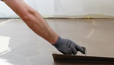 préparation et revêtement de sol
